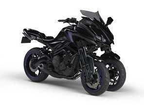 Yamaha MT-09 aparece como conceito de três rodas em Tóquio