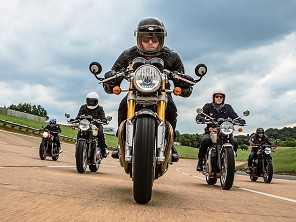 Triumph anuncia 5 motos novas