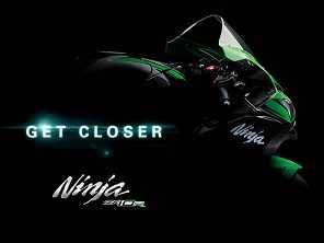 Kawasaki mostra teaser da nova Ninja ZX-10R