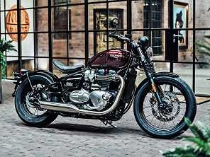 Triumph apresenta a nova Bonneville Bobber