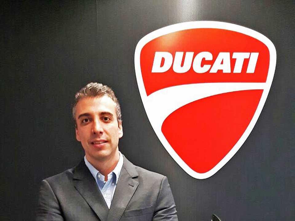 Diego Borghi, novo presidente da Ducati no Brasil