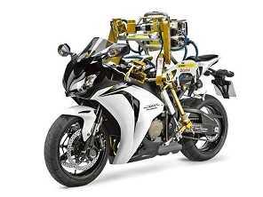 Honda estaria trabalhando numa moto de pilotagem autônoma