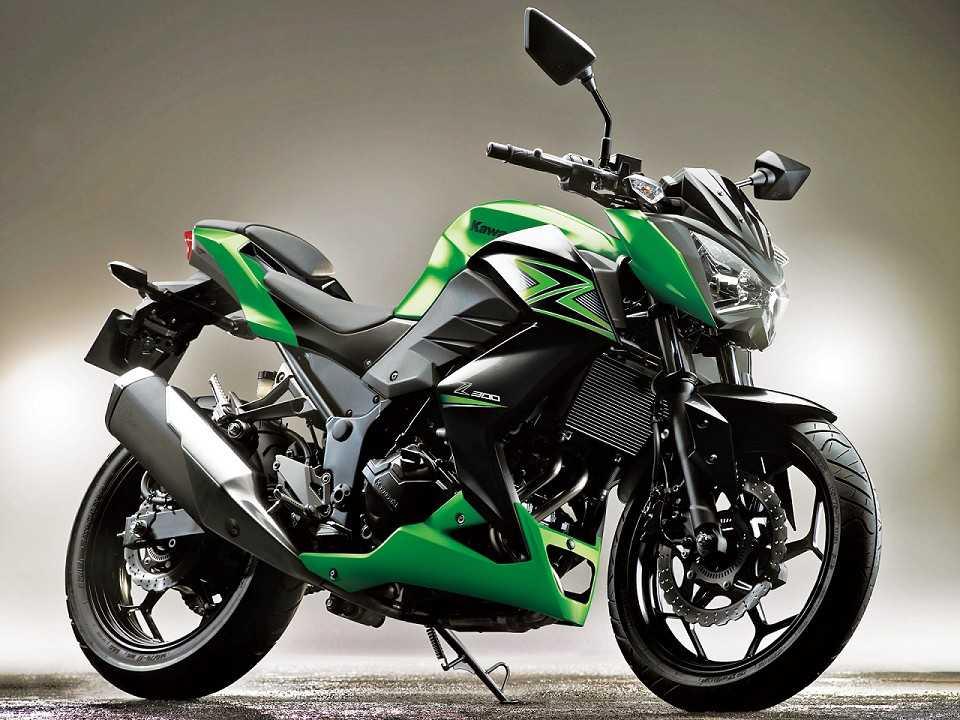 Kawasaki Z300 2017