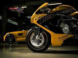 Mercedes-Benz vai vender motos da MV Agusta na Europa