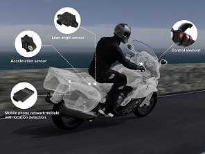 Motos BMW terão assistência de emergência