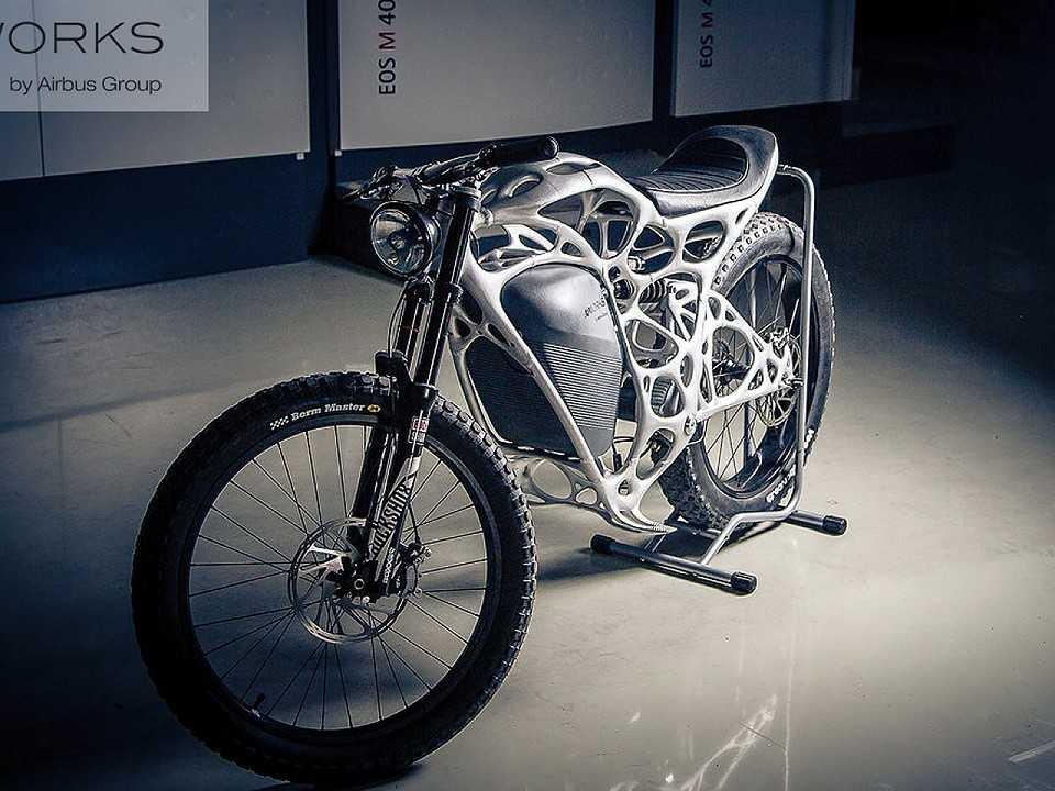 Light Rider, a primeira moto impressa em 3D
