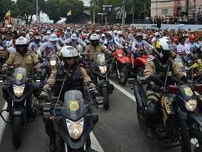 Venda de motocicletas recua 27,3% em maio