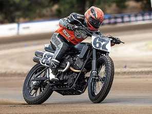 Harley estreia nova moto de competição