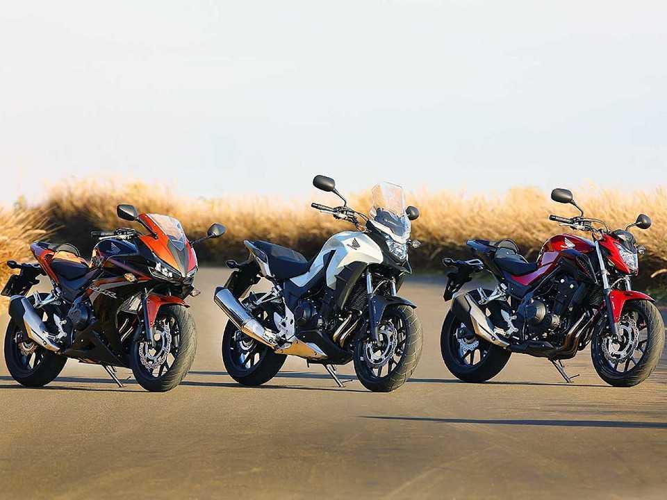 Linha 2016 da Honda CB 500F, CB500X e CBR 500R