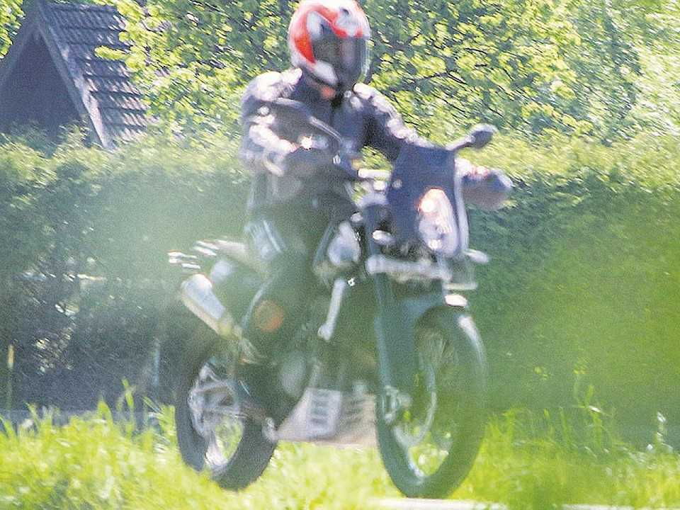 Flagra da KTM 800 Adventure