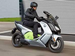 BMW mostra scooter el�trico de alto desempenho