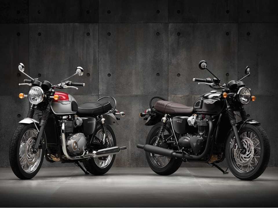 Novas Bonneville T120 e Thruxton R: clássicas em roupagem moderna