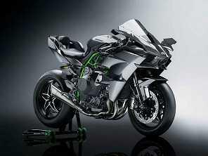 Kawasaki Ninja H2 e H2R 2018 já estão nas lojas