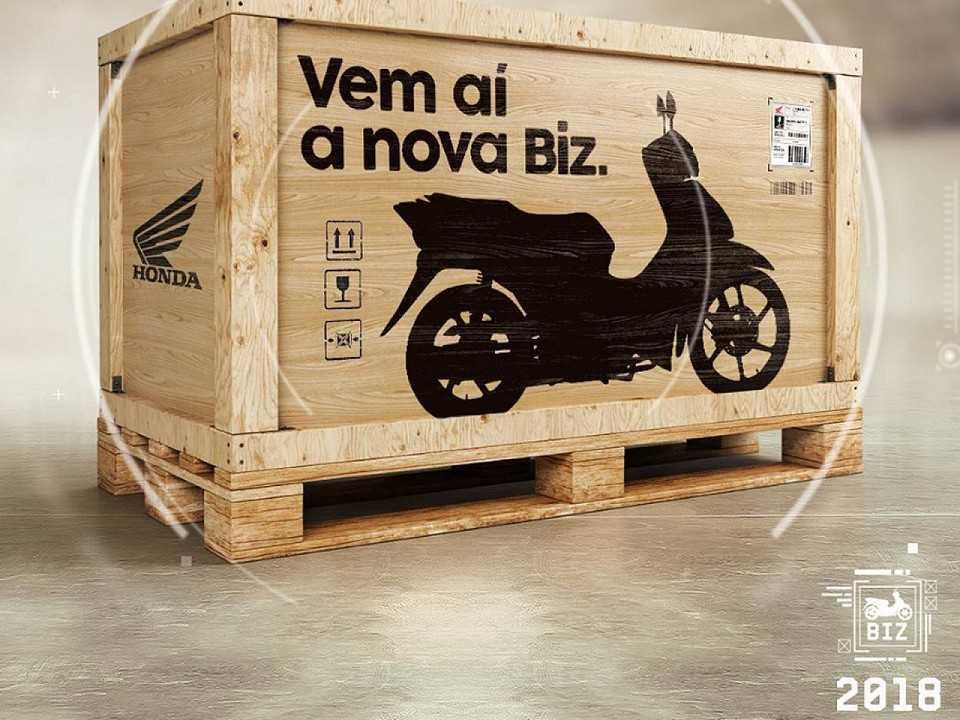 Honda Biz 2018: teaser de lançamento para o Salão Duas Rodas