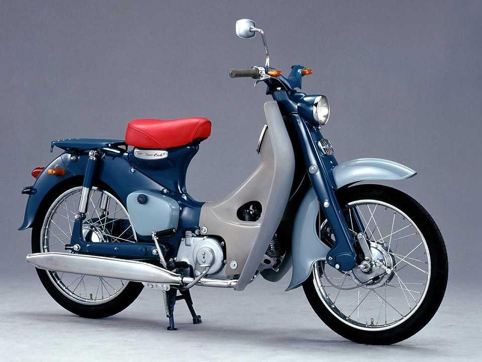 Honda C100 Super Cub chega a 100 milhões de unidades produzidas