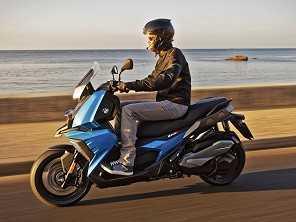 BMW apresenta novo scooter C 400 X