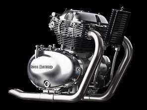 Royal Enfield lança novo motor de 650 cc