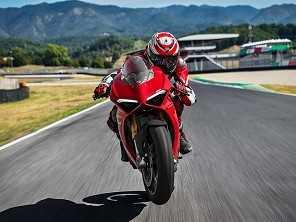 Ducati mostra a Panigale V4 na Califórnia