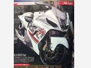 Suposta foto da nova Hayabusa aparece em revista