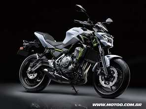 Kawasaki Z650 estreia como sucessora da ER-6n por R$ 32.990