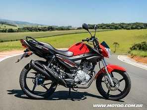 Yamaha Factor 150 ganha opção de freios combinados por R$ 7.990