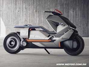 BMW Concept Link antecipa mobilidade das motocicletas