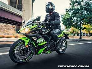 Kawasaki lança novas esportivas Ninja 650 e Ninja 1000 no Brasil