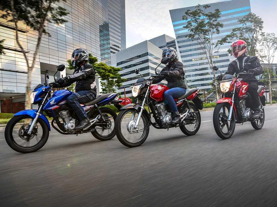 Linha 2018 da Honda CG 160