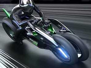 Vídeo: Kawasaki J, o triciclo do futuro