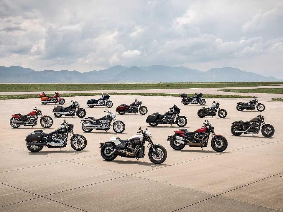 Linha Harley-Davidson 2019
