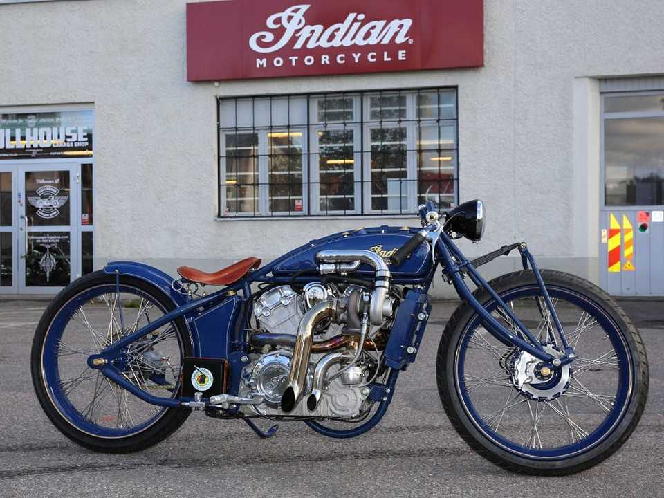 "Indian Super Scout ""boardtracker"""