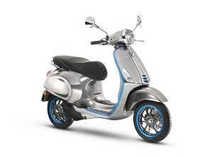 Piaggio inicia em setembro a produção da Vespa elétrica