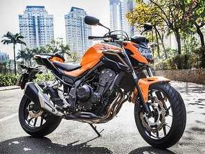 Honda CB 500X e CB 500F estreiam a linha 2019