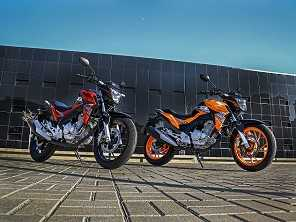 CG e mais nove: as motos urbanas mais vendidas de 2019