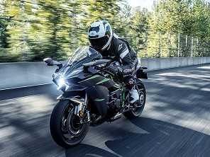 Kawasaki Ninja H2R 2019 estreia por R$ 357.000