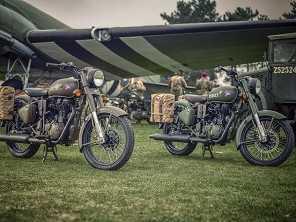 Royal Enfield traz ao Brasil moto inspirada na Segunda Guerra Mundial