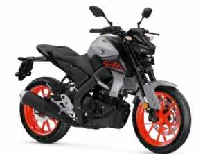 Yamaha revela imagens da nova MT-125