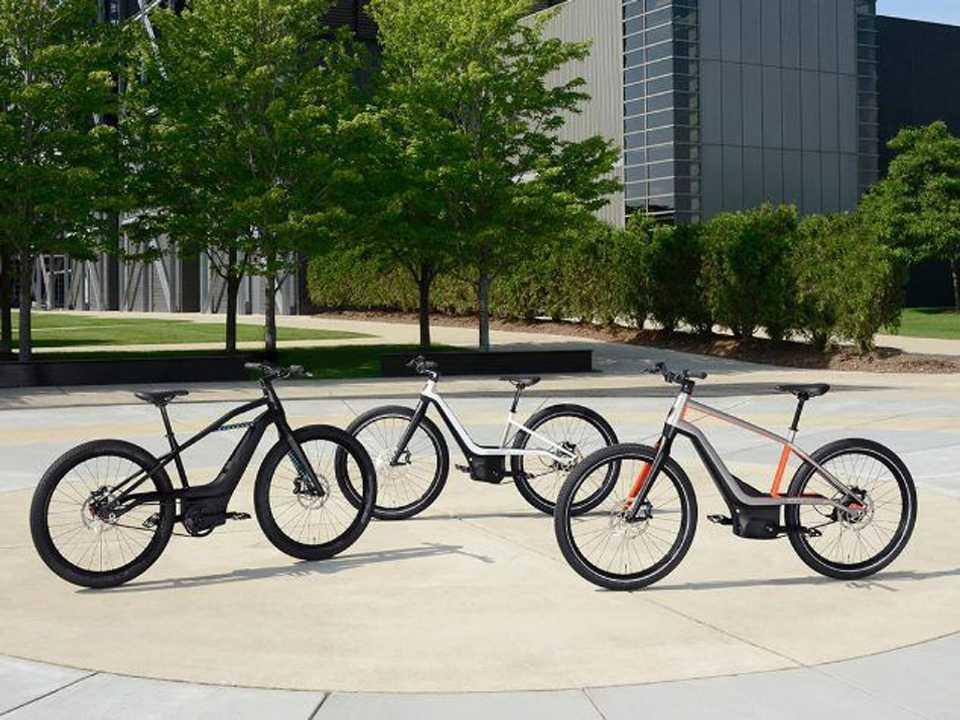 Linha de bicicletas elétricas da Harley-Davidson
