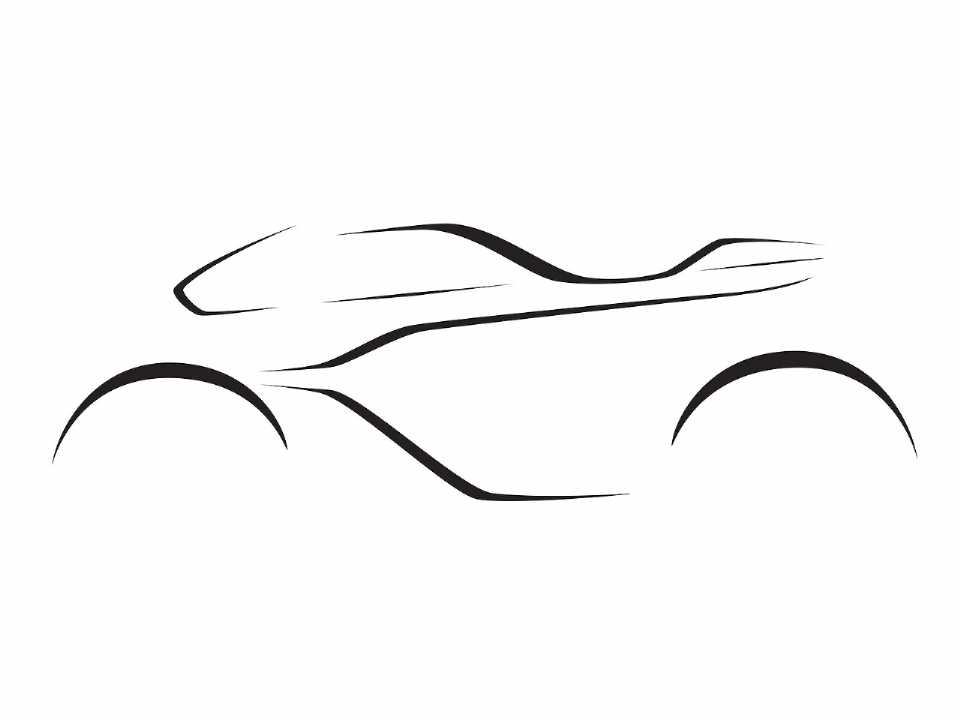 Teaser anunciando a futura moto desenvolvida pela Aston Martin e a Brough Superior