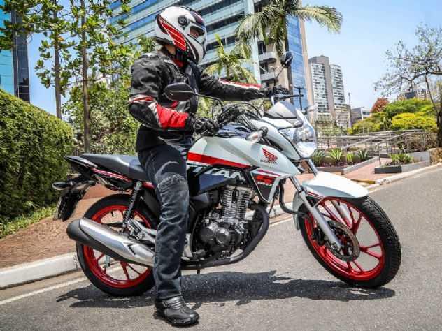 Honda CG 160 Titan S custará R$ 11.490