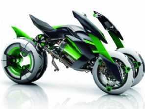 Kawasaki pode estar preparando moto de três rodas