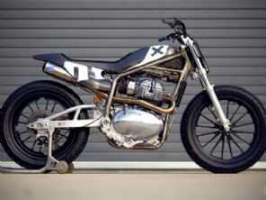 Royal Enfield lança conceito Twin Tracker