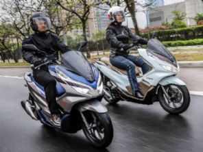 Honda PCX é o scooter mais vendido em 2019 até novembro
