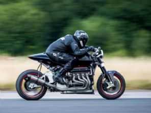 Britânico constrói moto com dois motores de Hayabusa