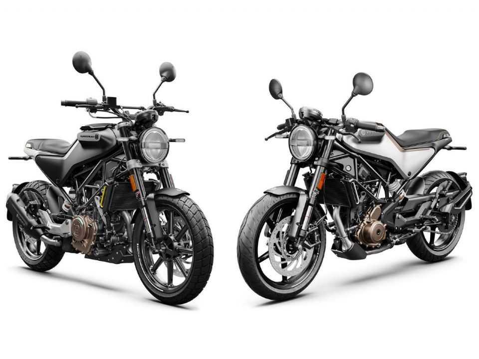 Vitpilen 250 e Svartpilen 250 foram apresentadas na Índia