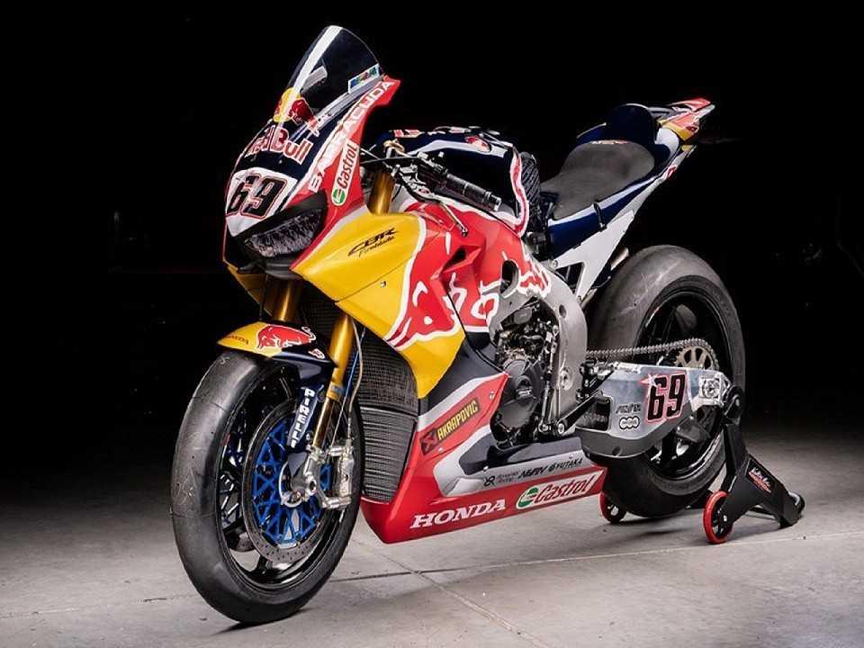 Acima a Honda CBR 1000RR SP2 utilizada pelo piloto norte-americano Nicky Hayden