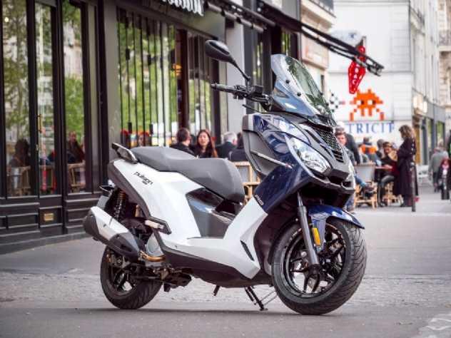 Peugeot apresenta a nova Scooter Pulsion 125