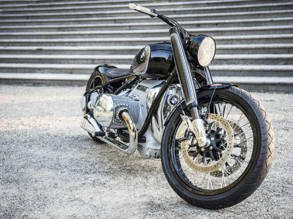 BMW R18 é a terceira moto conceito com o motor boxer de 1800 cilindradas