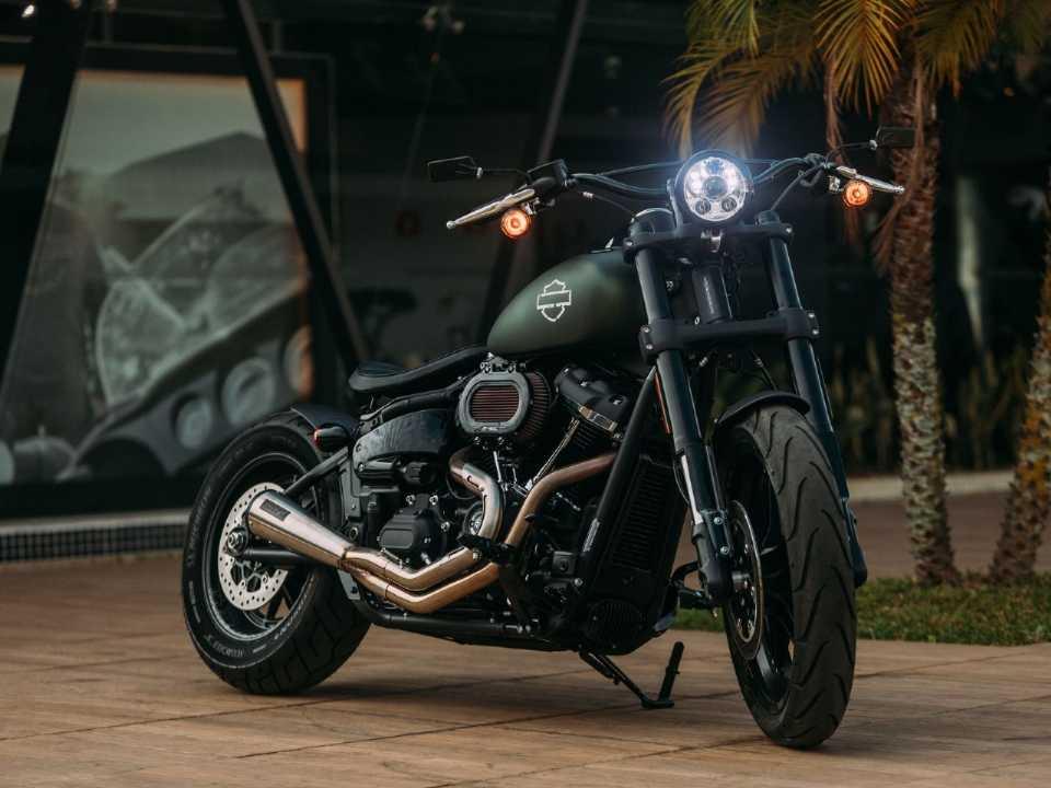 Harley-Davidson da Autostar, de São Paulo