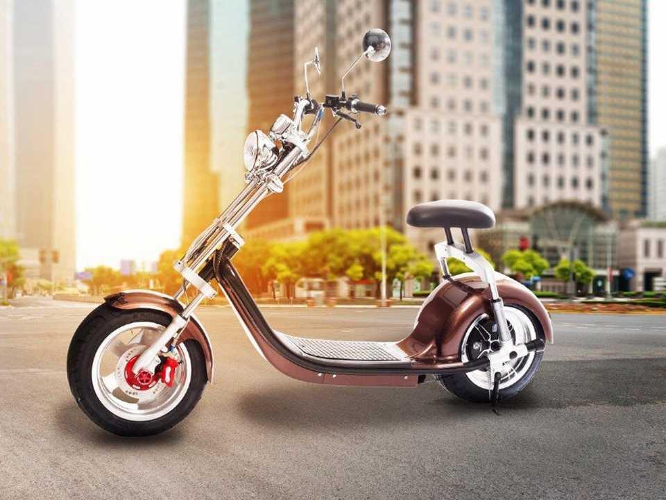 Moto elétrica importada pela Scooter